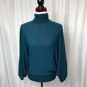 Peacock Blue Sweater by The Limited